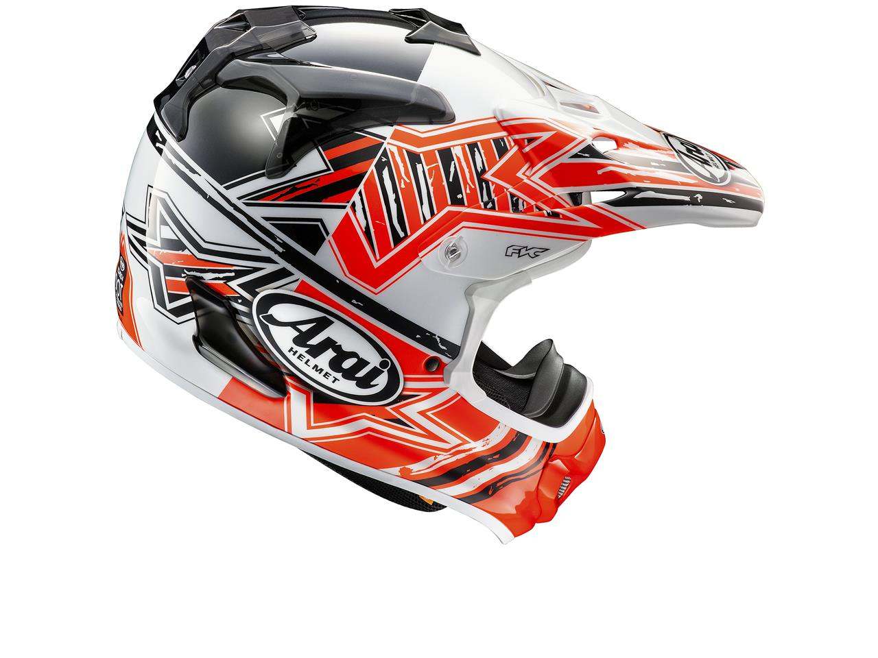 Casque ARAI MX-V Star Orange taille L