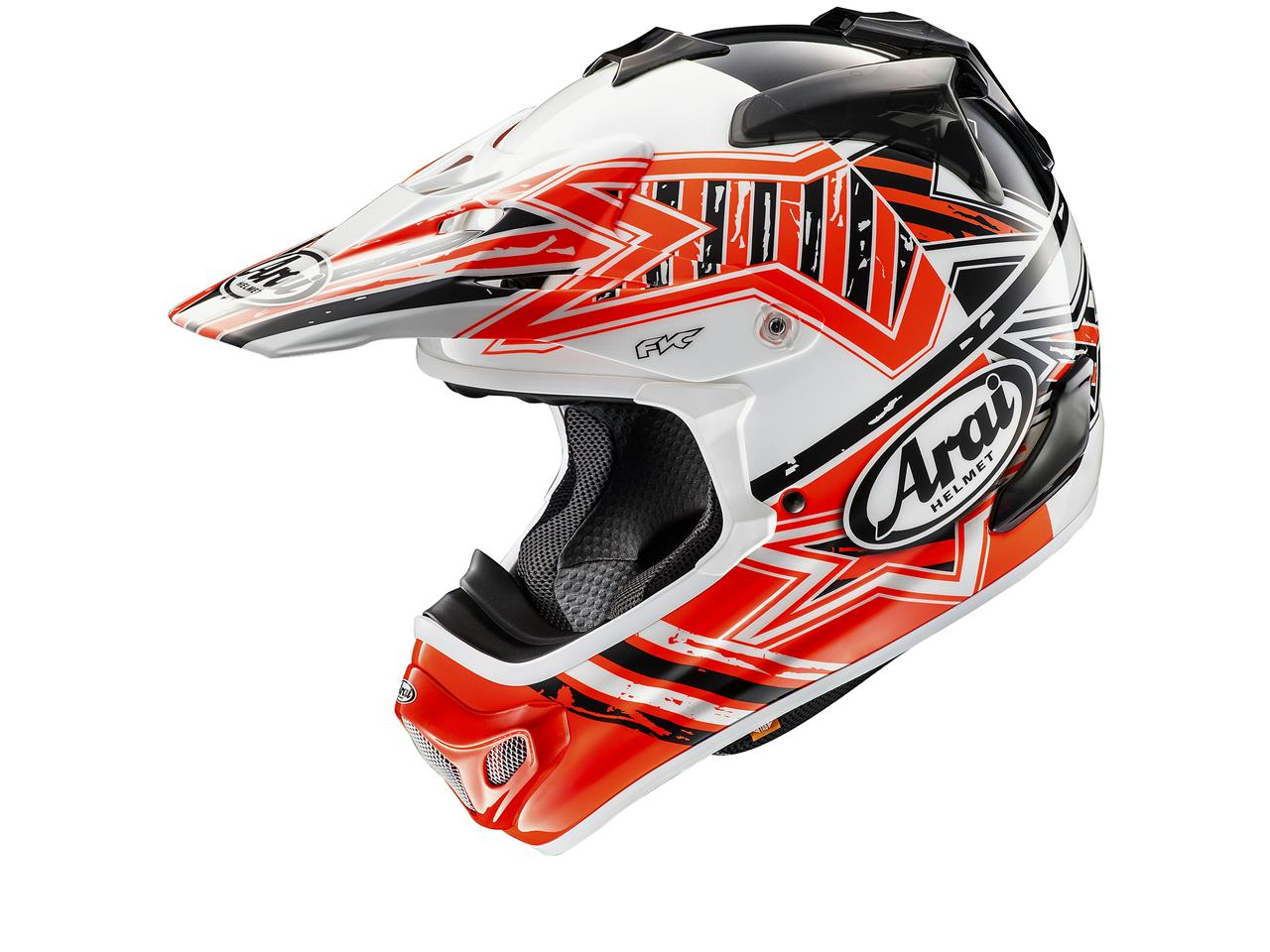 Casque ARAI MX-V Star Orange taille M