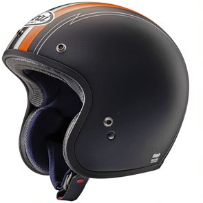 Casque ARAI Freeway Classic Ride Orange taille XL