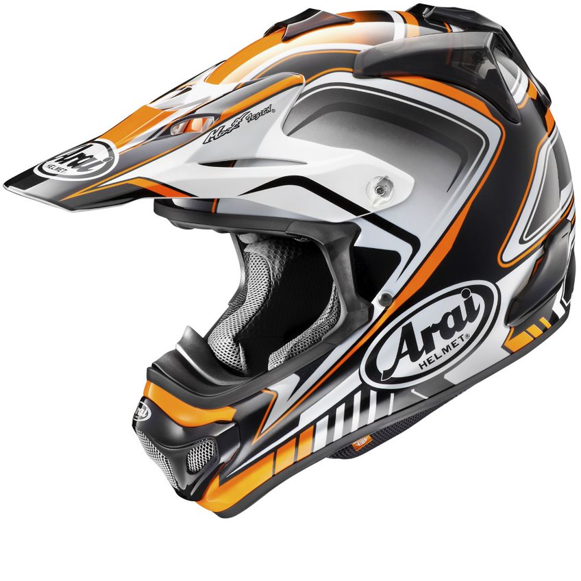 Casque ARAI MX-V Speedy Orange taille XS