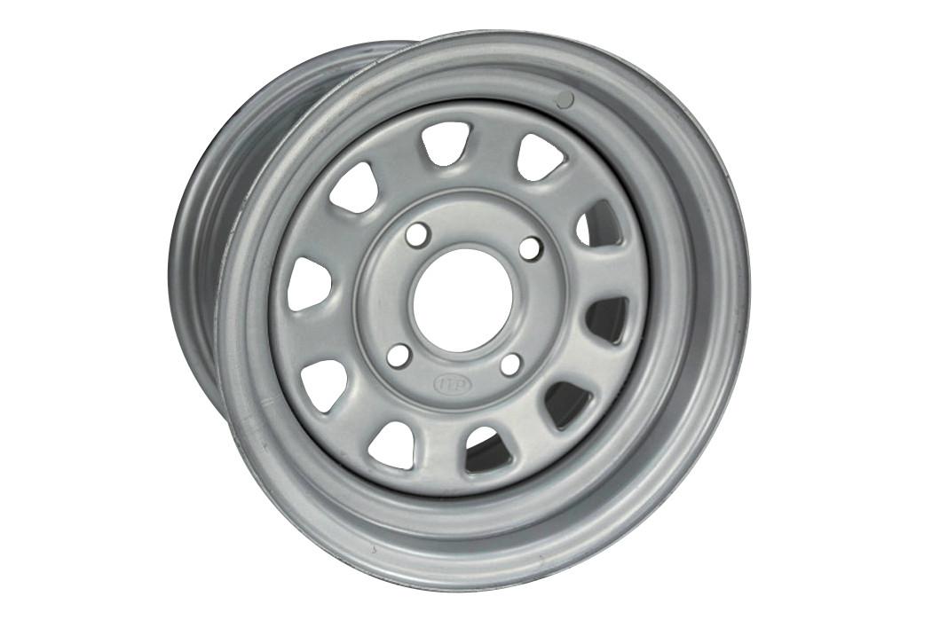 Jante utilitaire ITP acier gris 12x7 4X100 2+5