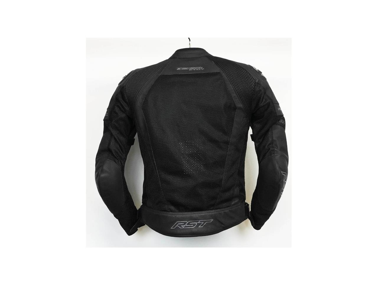 Veste RST Tractech Evo 4 cuir noir homme