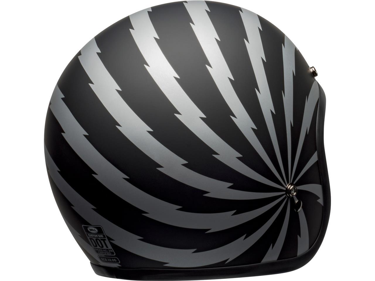 Casque BELL Custom 500 DLX SE Vertigo Matte Black/Silver