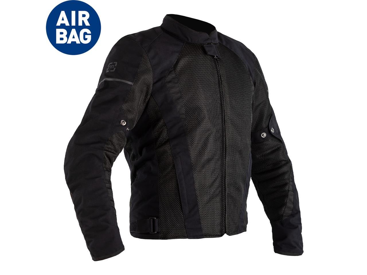 Veste RST F-Lite Airbag textile noir homme