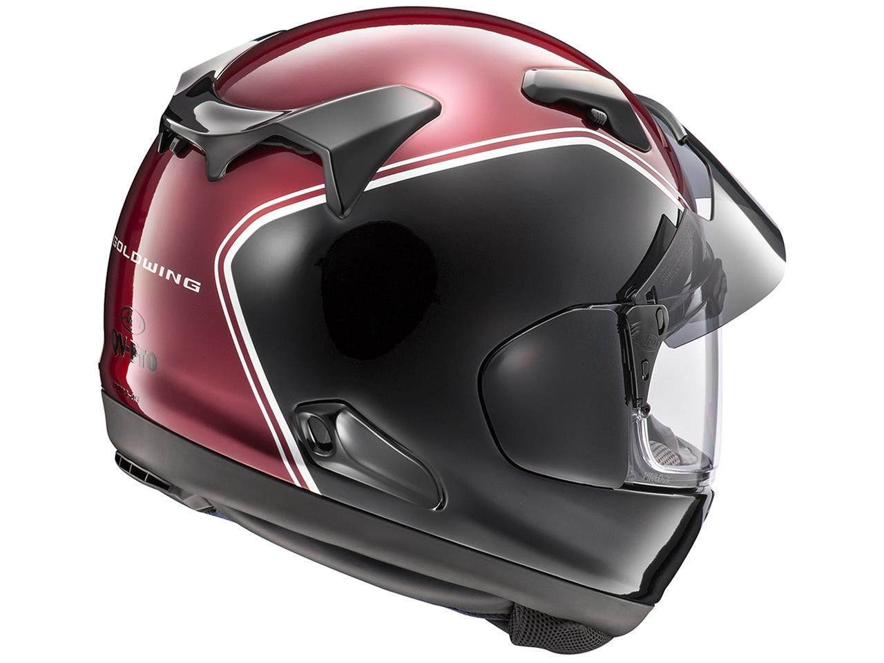 Casque ARAI QV-PRO Gold Wing Red taille L