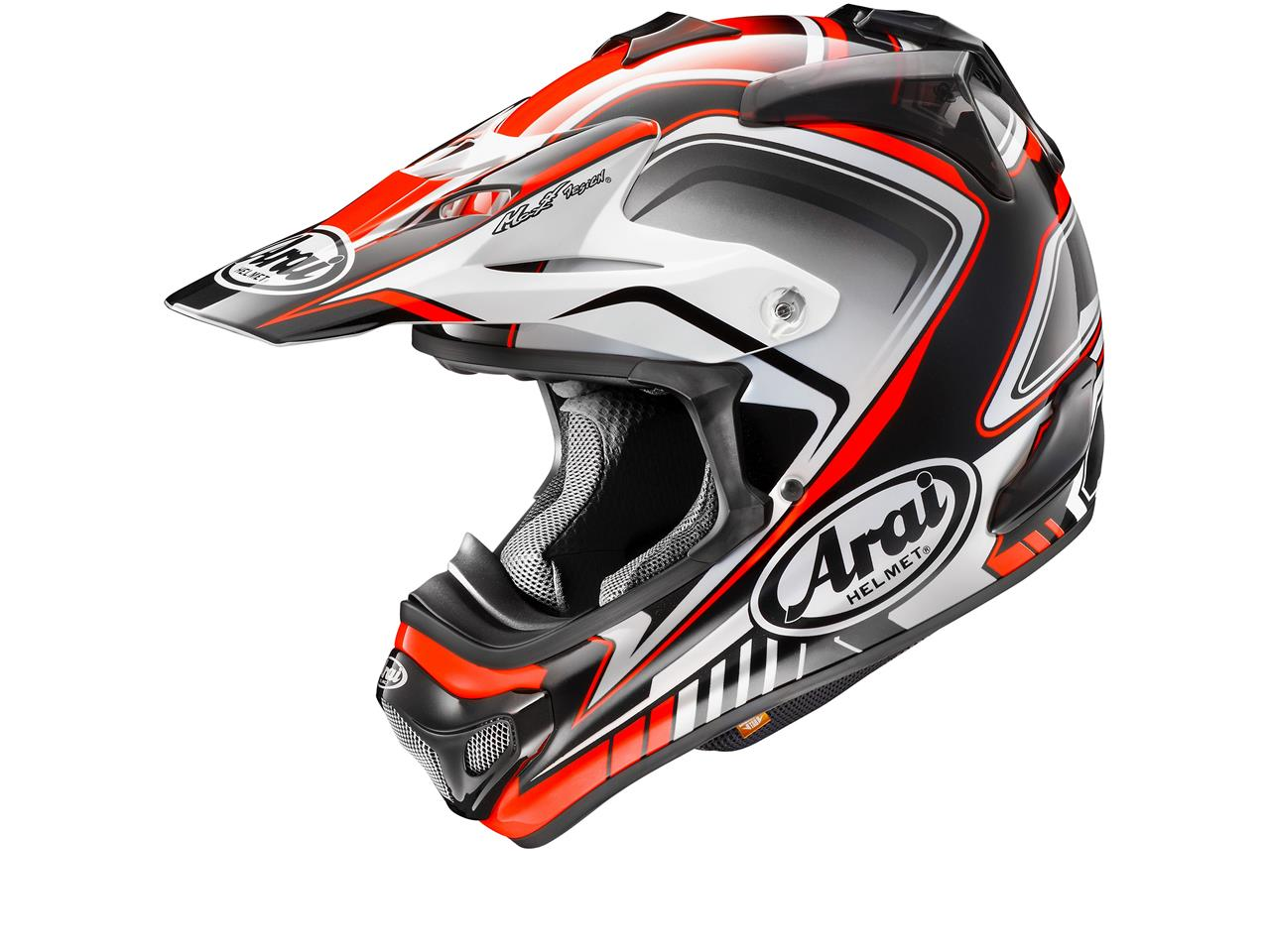 Casque ARAI MX-V Speedy Red taille XL