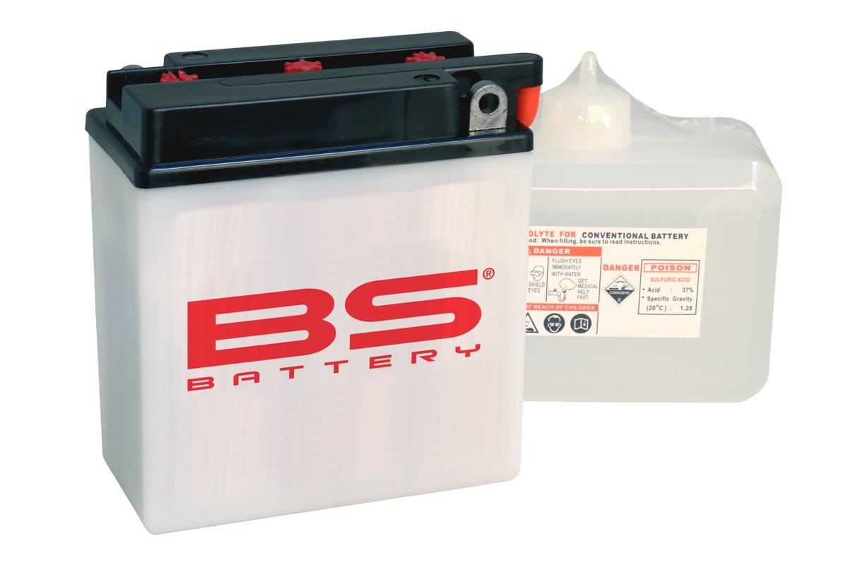 Batterie BS BATTERY 6N2-2A-4 conventionnelle livrée avec pack acide