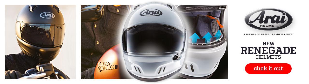NEW ARAI Renagade Helmet