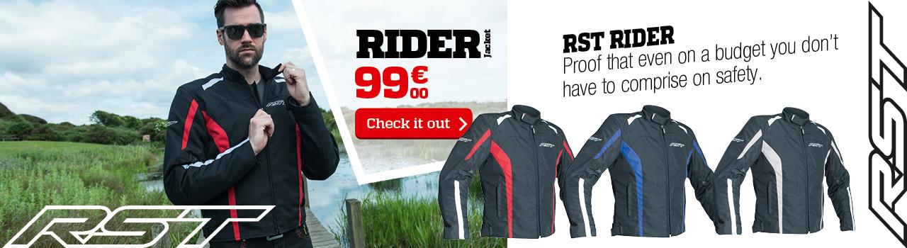 RST Rider textile jacket