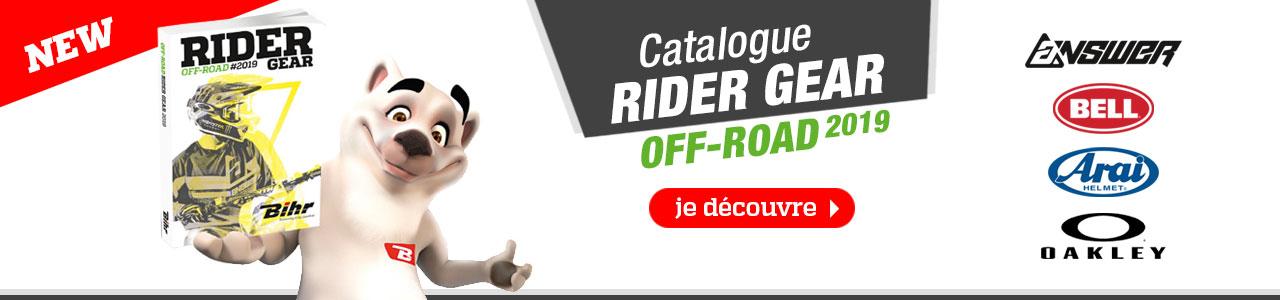 Catalogue RIDER GEAR OFF-ROAD 2019