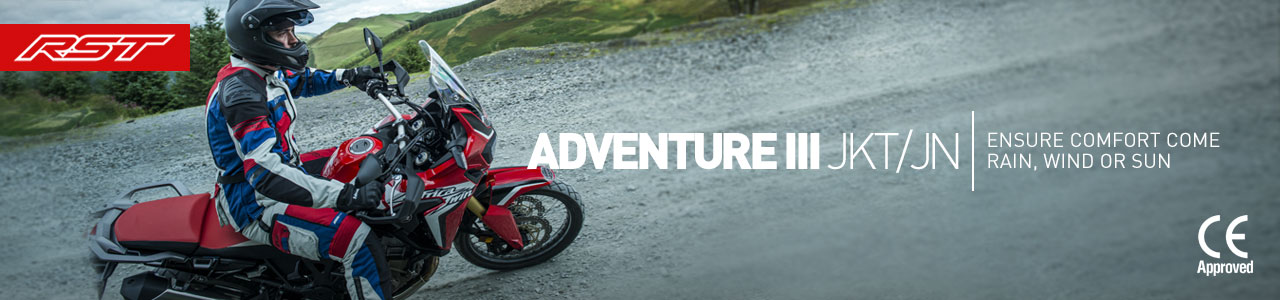 Ready for fall with RST Adventure III outfit