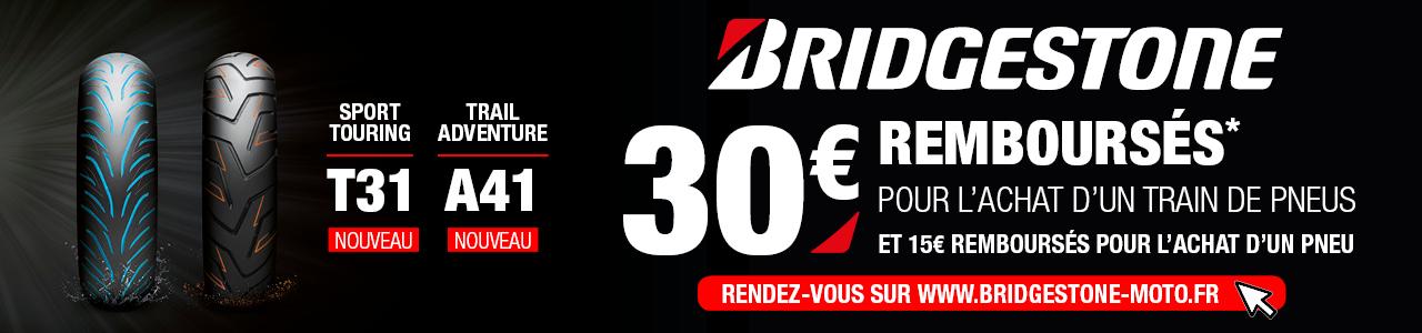 Offre promotionnelle Bridgestone