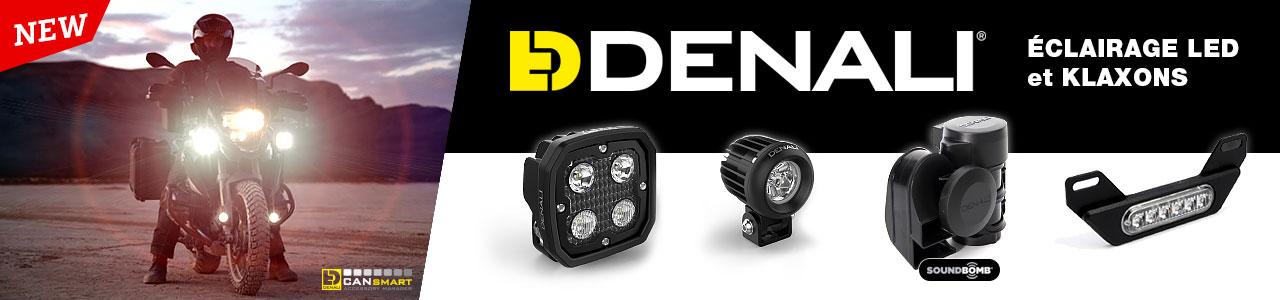 DENALI éclairage LED et klaxons