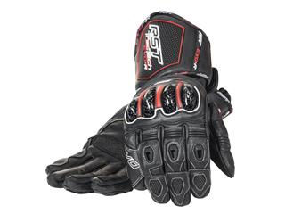 RST Tractech Race CE gloves leather summer black size 08 man