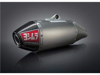 Yoshimura USA RS4 stainless full system/Alu muffler for KTM SX-F350