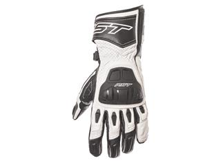 RST R-16 Semi Sport CE gloves leather summer white size 10 man