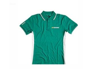 Motorex men's M size green polo shirt
