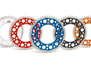 RENTHAL Twinring® 52-teeth Rear Sprocket Ultra-light Self-Cleaning Hard Anodised Silver Honda