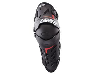 LEATT Dual Axis Knee & Shin Guard Black/Red Size S/M