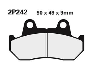 NISSIN semi-metallic 2P-242NS brake pads