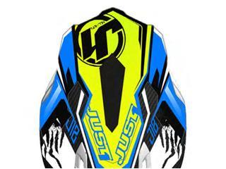 JUST 1 J12 Kids Spare Peak Dominator Blue/Neon Yellow