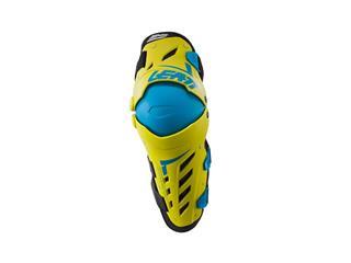 LEATT Dual Axis Knee & Shin Guard White/Black Size S/M