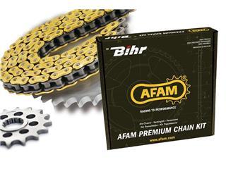 AFAM chain kit 520 Type XSR (ultra-light Rear Sprocket) HUSQVARNA SMS610