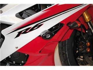 R&G RACING Upper Aero Pads Black Yamaha