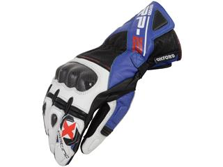RP2 -  LEATHER SPORTS GLOVE BLUE/WHITE
