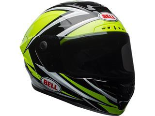 BELL Star Mips Helmet Gloss HI-VIZ Green/Black Tortion Size XXL