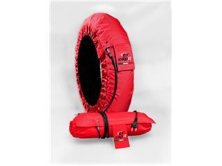CAPIT Suprema Spina Tirewarmers Red Size M/L