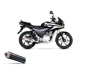 Scorpion Factory carbon pipe for Honda CBF125