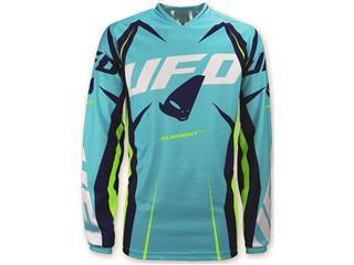 UFO Element Jersey Turquoise/Yellow Size XXL