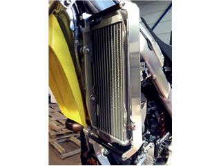 AXP Radiator Guard Aluminum Blue Beta Suzuki RM-Z250