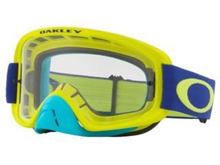 OAKLEY O Frame 2.0 Goggle Lime Blue Clear Lens