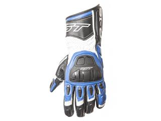 RST R-16 Semi Sport CE gloves leather summer blue size 10 man