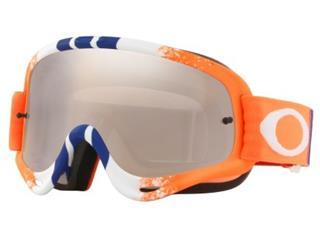 OAKLEY O Frame Goggle Pinned Race Orange/Blue Black Iridium Lens