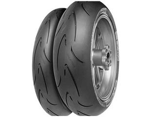 Tyre CONTINENTAL ContiRaceAttack Comp. Sof 160/60 ZR 17 M/C 69W TL