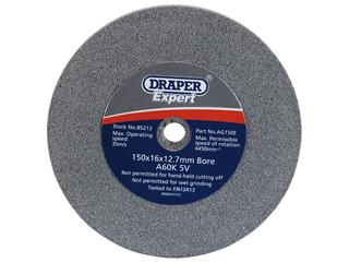 DRAPER Grinding Wheel Ø150mm Grit 60