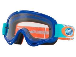 OAKLEY XS O Frame Goggle Treadburn Orange/Blue Clear Lens