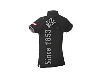 MOTUL Poloshirt Black Ladies XXL