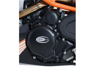 R&G RACING Left Engine Case Cover Black KTM 390 Duke