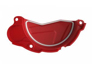 POLISPORT Clutch Cover Protection Red Honda CRF450R/RX