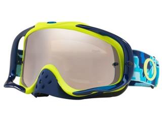 OAKLEY Crowbar Goggle Thermo Camo Blue/Lime Black Iridium Lens