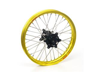 HAAN WHEELS 18X2.15 Complete Rear Wheel Yellow Rim/Black Hub KTM
