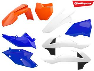 POLISPORT Plastic Kit OEM Type Six Days Edition KTM EXC/EXC-F