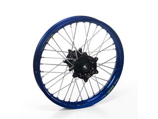 HAAN WHEELS Complete Rear Wheel 21x1,60 Blue Rim/Black Hub Yamaha