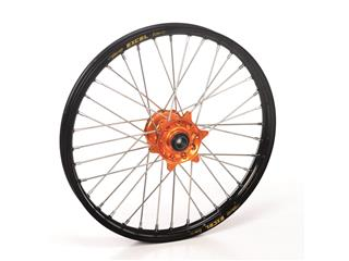 HAAN WHEELS Complete Rear Wheel Black Rim/Orange Hub KTM