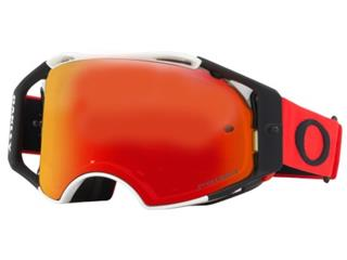 OAKLEY Airbrake Goggle Red White Prizm MX Torch Iridium Lens