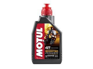 MOTUL Scooter Power Motor Oil 4T 5W40 100% Synthetic 1L
